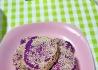 手工紫薯饼
