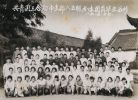 老照片:蟠龙中学85级同学照。
