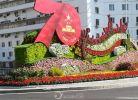1949-2019祖国70华诞,鲜花装扮与你相见。