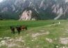 松潘县的野外取景