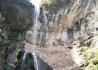 新发现马角豹林瀑布