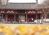 初冬的李白纪念馆