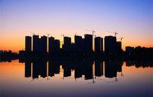 夏日清晨的明月岛一览