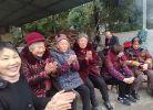 喜迎新年又逢臘八節,由厚壩鎮玄武村等地村民自發組織活動