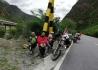 武都骑游队西藏,青海,新疆万里行第八天成功抵达拉萨布达拉宫!