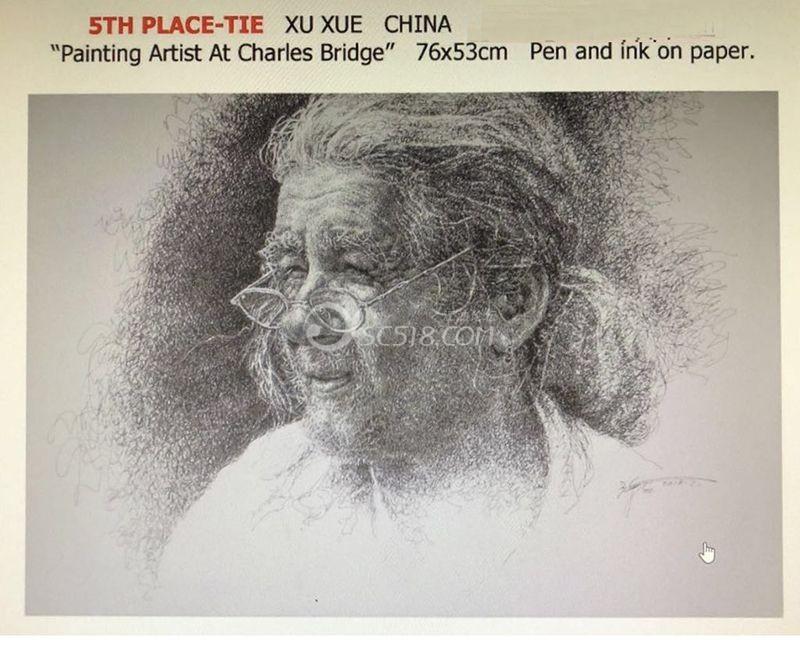 《查尔斯大桥上的绘画艺术家》.jpg