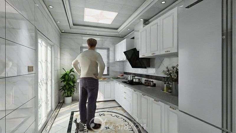 厨房---简欧二级吊顶.jpg