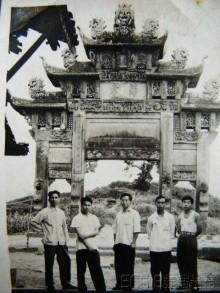 东安老牌坊的传说(老照片)