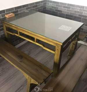 中餐厅桌椅以及炒灶,熟食柜出售