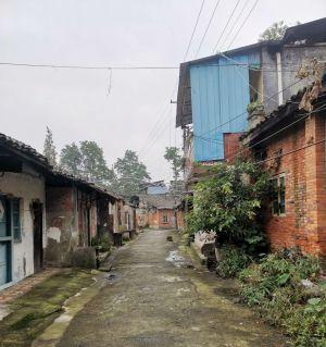 江油城区中最后的老街