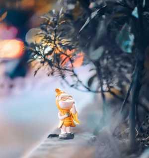 静物摄影:小玩偶