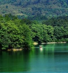 白水湖风景