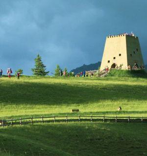 祁连  卓尔山----东方的阿尔卑斯山