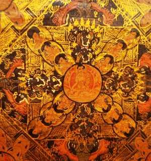 西藏唐卡,精美绝伦的佛教绘画艺术