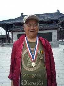 青莲李白故居的抗战老兵