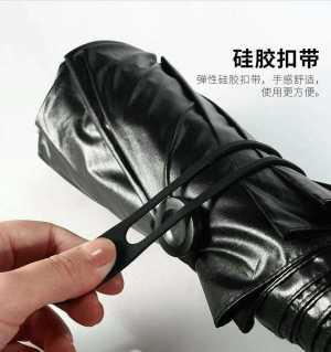 自动晴雨伞。自动的