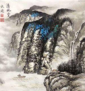 孩子们暑期中国传统国画学习