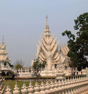 泰国之行A——清莱白庙