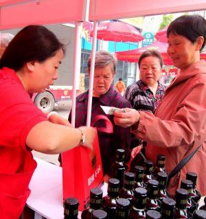 生生酱园产品登陆江油市场