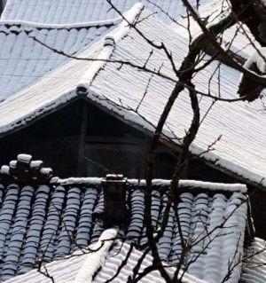 含增麻柳湾 江油看雪景的好地方