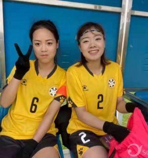 两个江油妹子为四川女足闯进2021中国女足锦标赛四强立下了汗马功劳!为你们点赞